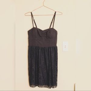 American Eagle Outfitters Blue Mini Dress: Small